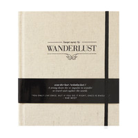 WANDERLUST Travel Journal