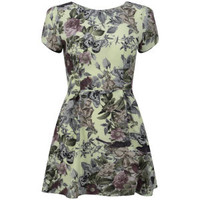 LOVE Women's Woven Skater Dress - Fantasy Floral Womens Clothing | TheHut.com