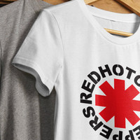 New Red Hot Chili Peppers T Shirt Music band printed T-shirts RHCP T-Shirt