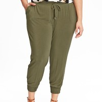 Old Navy Womens Plus Super Soft Cuffed Pants