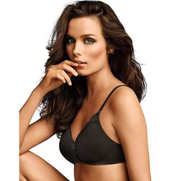 Maidenform; Comfort Devotion; No Wire Demi Bra With Lift