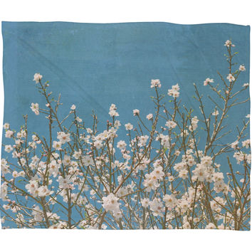 Lisa Argyropoulos Reaching For Spring Fleece Throw Blanket