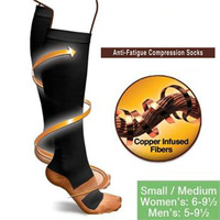 Miracle Copper Anti-Fatigue Compression Socks (unisex- BUY 1 GET 5 FREE) with Free shipping.