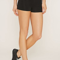 Active Contrast-Panel Shorts