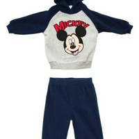 Amazon.com: Mickey Mouse Disney Cartoon Toddler Fleece Hoodie And Pants Two Piece Set: Clothing