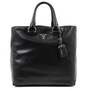 Prada Womens Handbag 1BG865 ZQE F0002 SOFT CALF NERO