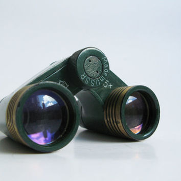 Soviet Theater Binoculars, Vintage Opera Glasses, Leather Case, Gift for Dad, Gift for Him #giftforhim#giftfordad#Christmasgift