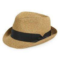 Junior Women's BP. Straw Fedora