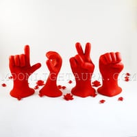Love Hands in Sign Language Large Size Made To by MoonlightAura