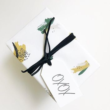 Paint Brush Gift Wrap - Roll
