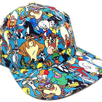 Looney Tunes All Over Print Sublimated Snapback