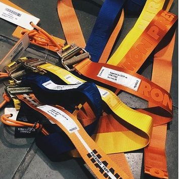 2018ss Best Version 1:1 Heron Preston Canvas Belt 120CM Hip hop Streetwear Women Men Heron Preston ACW Skateboards Sock