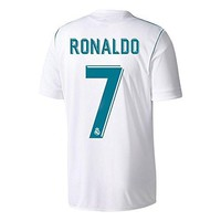 adidas Men's 2017 / 2018 Real Madrid Ronaldo Home Jersey