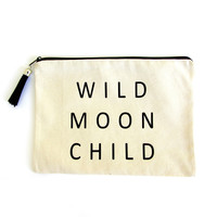 MOON CHILD ZIP POUCH