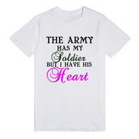 the army has my soldier but i have his heart