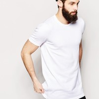 ASOS Longline Knitted T-Shirt