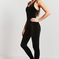 Active Velvet Jumpsuit - Women - Activewear - 2000161274 - Forever 21 Canada English