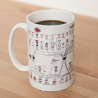 The Compendious Coffee Chart Coffee Mug