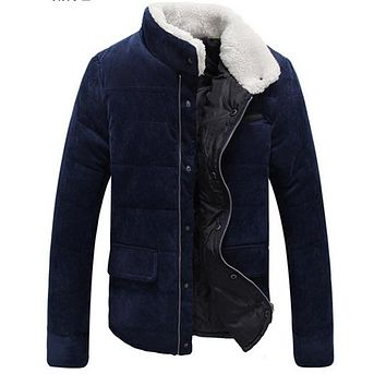 Men's brand winter warm coat jacket coat jacket men casual men hooded cotton jacket free shipping