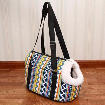 Pet Carrier Dog Backpack Cozy & Soft Puppy Cat Dog Bags Outdoor Hiking Travel Puppy Bag Chihuahua Shoulder Carrier Pet Products