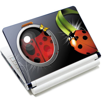 """Ladybug Art Anti-Slip Laptop Sticker Skin Decal Cover Protector For 11.6"""" -15.4"""" Sony Toshiba HP Dell Acer Thinkpad"""