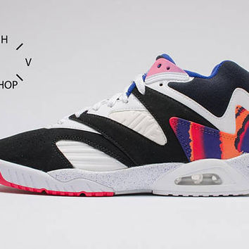 Vintage Nike Air Tech Challenge IV 4 sneakers / Andre Agassi Tennis Court Trainers / OG Hot Lava Athletic Shoes / Womens Mens kicks / 90s