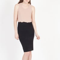 Kelley Knit Pencil Skirt