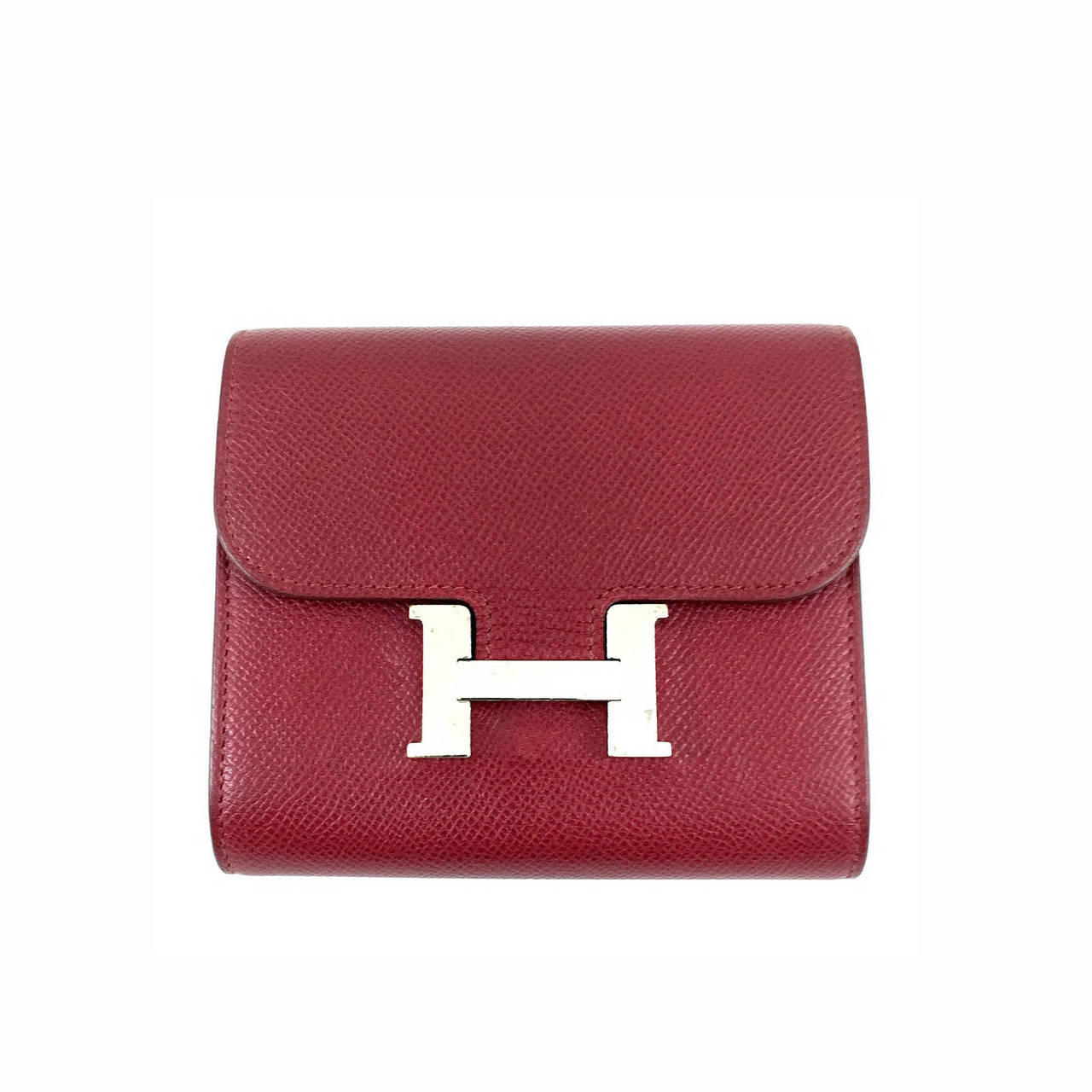 faux birkin - Hermes Vermillion 25cm Lipstick Red Togo Mini Kelly Bag Palladium ...