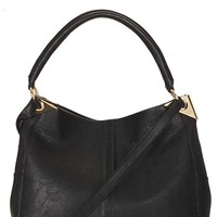 Topshop Hinged Hobo Bag