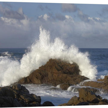 Crashing Waves at Garrapata State Beach