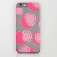 pink stones iPhone & iPod Case by Her Art