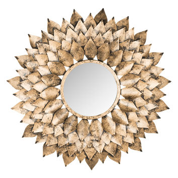 Safavieh Provence Sunburst Mirror - Gold