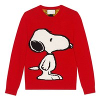 Indie Designs Gucci Inspired Snoopy Tiger Stripe Sweater