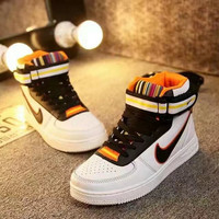 """Nike Air Force 1 x Givenchy"" Unisex Sport Casual High Help Shoes Sneakers Couple Plate Shoes"