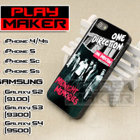 One Direction Midnight Memories - iPhone 4/4s, iPhone 5, 5s, 5c, Samsung Galaxy i9200 s2, i9300 s3 and i9500 s4 Case