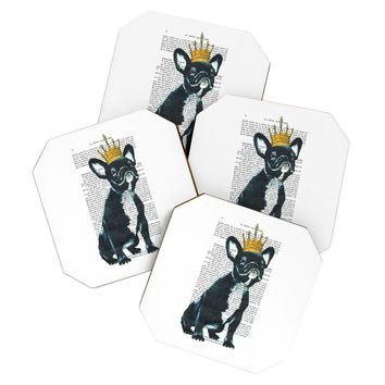 Coco de Paris Bulldog King Coaster Set