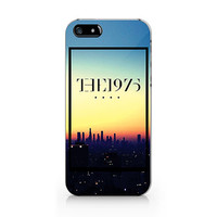 M-606 The 1975 with floral unique design for iPhone 4/5/5C/6 case, Samsung galaxy S4/S5/Note3 case