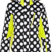 House of Holland - + Roxy polka-dot Dry Flight shell ski jacket