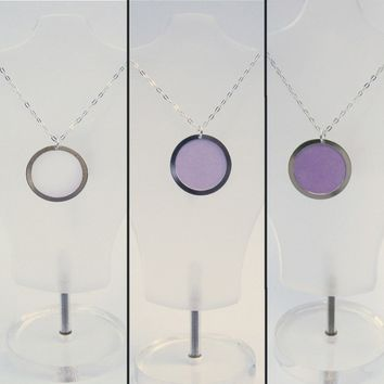 YOU Are Soooo Radiant - Working Color Changing Ultra Violet UV Detector Necklace