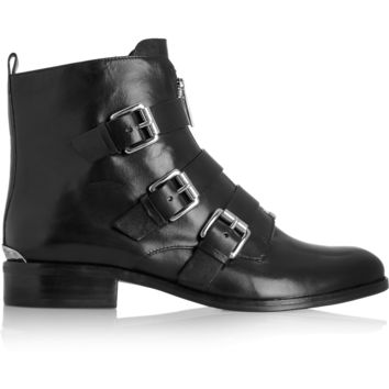 MICHAEL Michael Kors - Anya leather ankle boots