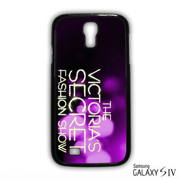Victorias Secret Fashion Show for Samsung Galaxy S3/S4/S5/S6/S6 Edge/S6 Edge Plus phonecases