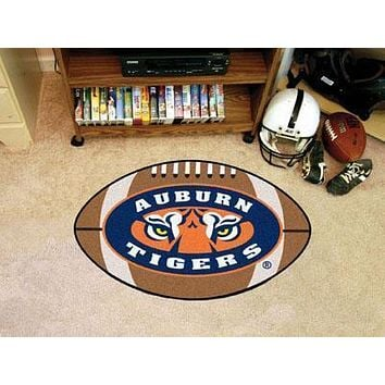 "NCAA -  Auburn Football Ball Rug 20.5""x32.5"""