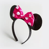 Sequin Minnie Mouse Ears Headband  | Claire's