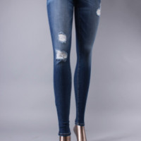 'Dakota' Distressed Skinny Jeans