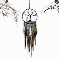 New Fashion Gift India Tree of Life Dreamcatcher Wind Chimes & Hanging Pendant Dream Catcher Regalo BMW075