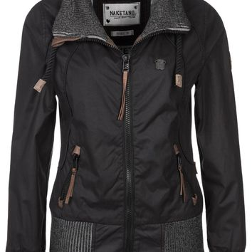 Naketano SCHLAGERSTAR II - Summer jacket - black - Zalando.co.uk