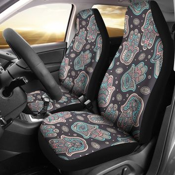 Hamsa Hand Car Seat Covers