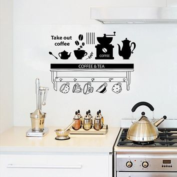 Decorative Wall Stickers - Plane Wall Stickers / Words & Quotes Wall Stickers Characters / Shapes Kitchen / Dining Room