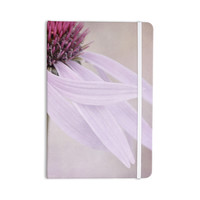 "Iris Lehnhardt ""Windswept"" Lavender Floral Everything Notebook"