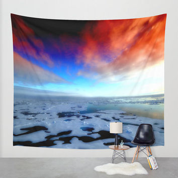 colorful wall tapestry.colorful sky wall tapestry.sky wall tapestry.orange wall tapestry.blue wall tapestry.clouds wall tapestry.colorful